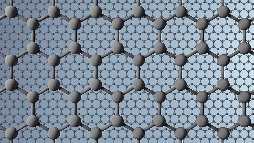 Графен -- слой атомов углерода толщиной в один атом