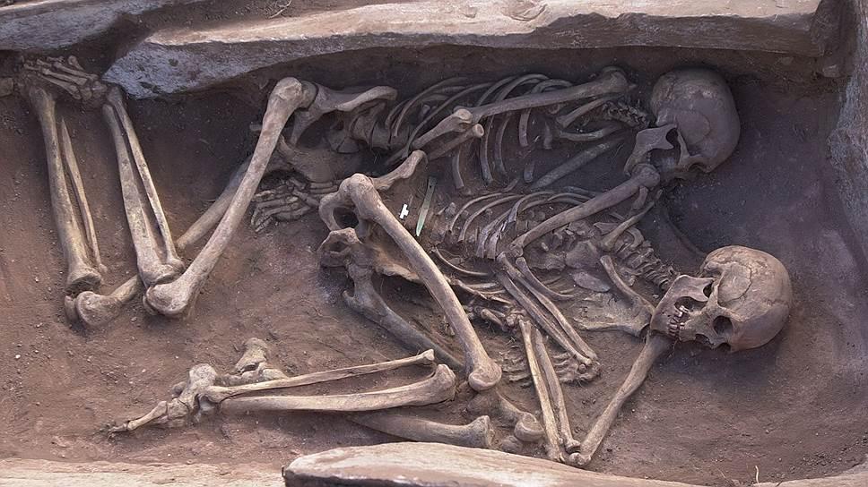Раннее парное скифское захоронение VIIIвека до н.э., Тува