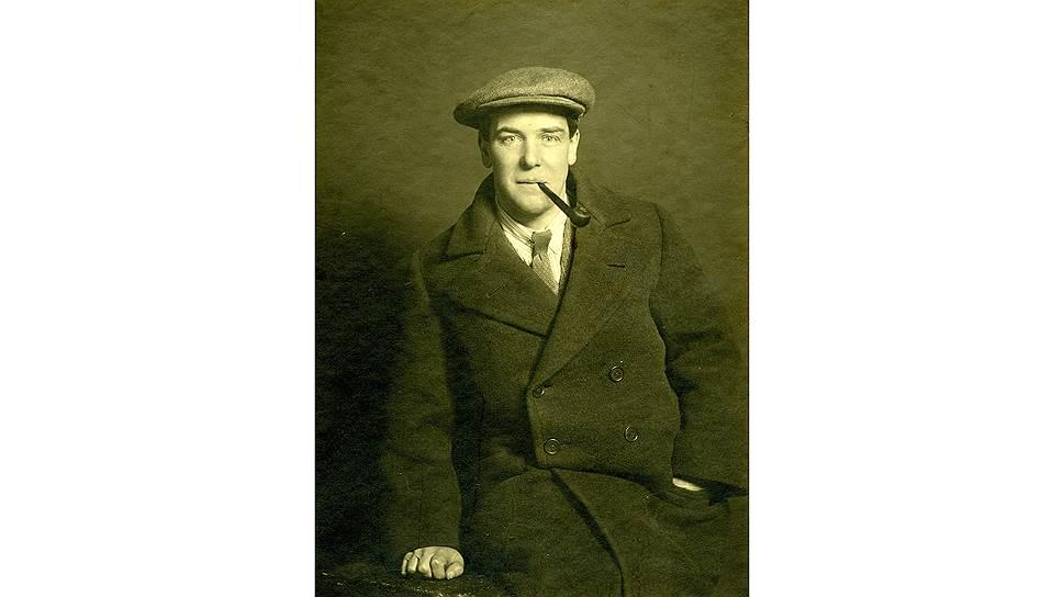 Петр Капица после избрания в Лондонское Королевское общество. 1929 год