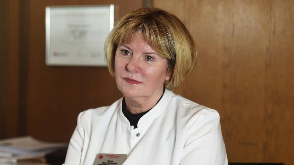 Директор НИИ клинической кардиологии им.А.Л.Мясникова Ирина Чазова