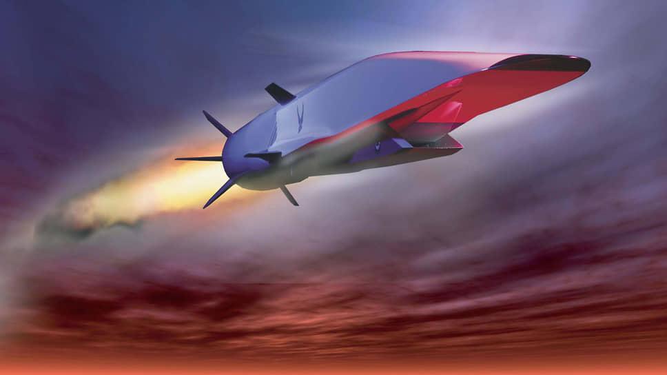 Гиперзвуковая крылатая ракета и ее скачки