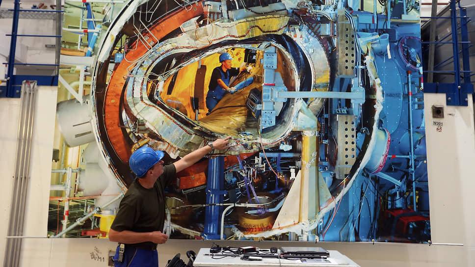 Экспериментальная установка Wendelstein 7-X для исследования управляемого термоядерного синтеза. Грайфсвальд (Германия)