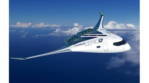 Самолет на водороде  / Airbus создает двигатель с нулевым выбросом