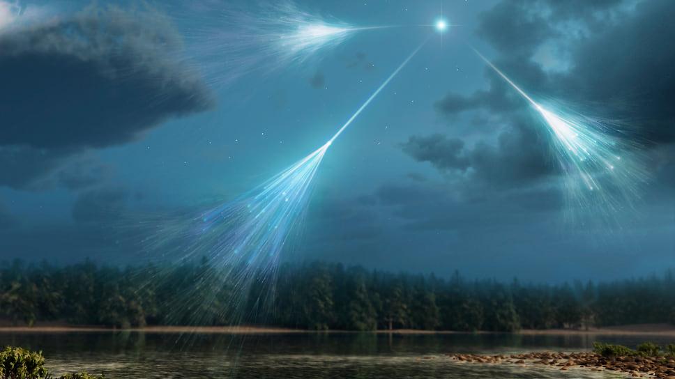 Все космические нейтрино высоких энергий рождаются квазарами