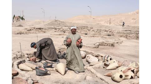 Потерянный золотой город найден в песках Египта // 3000 лет назад это была столица процветающего государства
