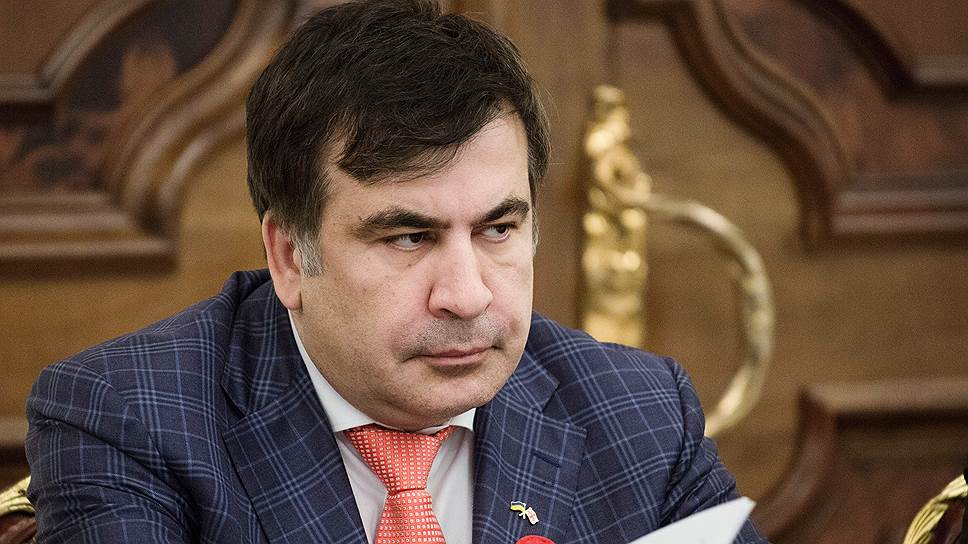 Председатель одесской обладминистрации Михаил Саакашвили