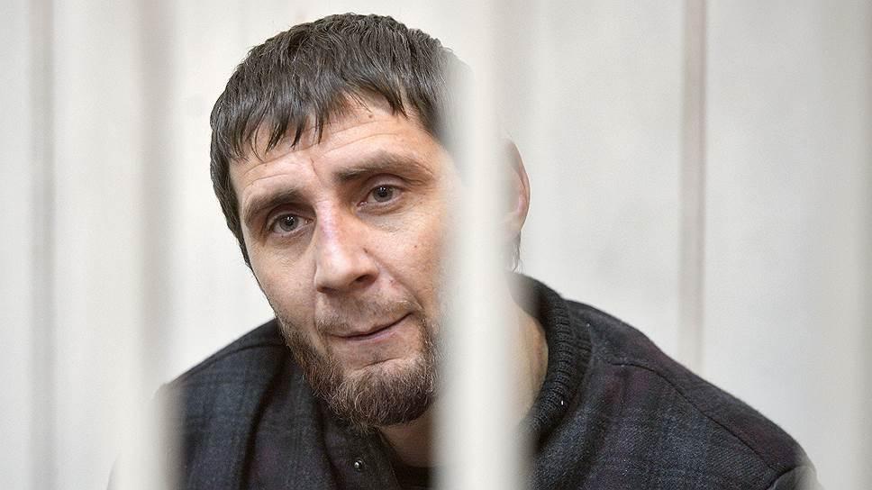 Заур Дадаев, обвиняемый в убийстве Бориса Немцова