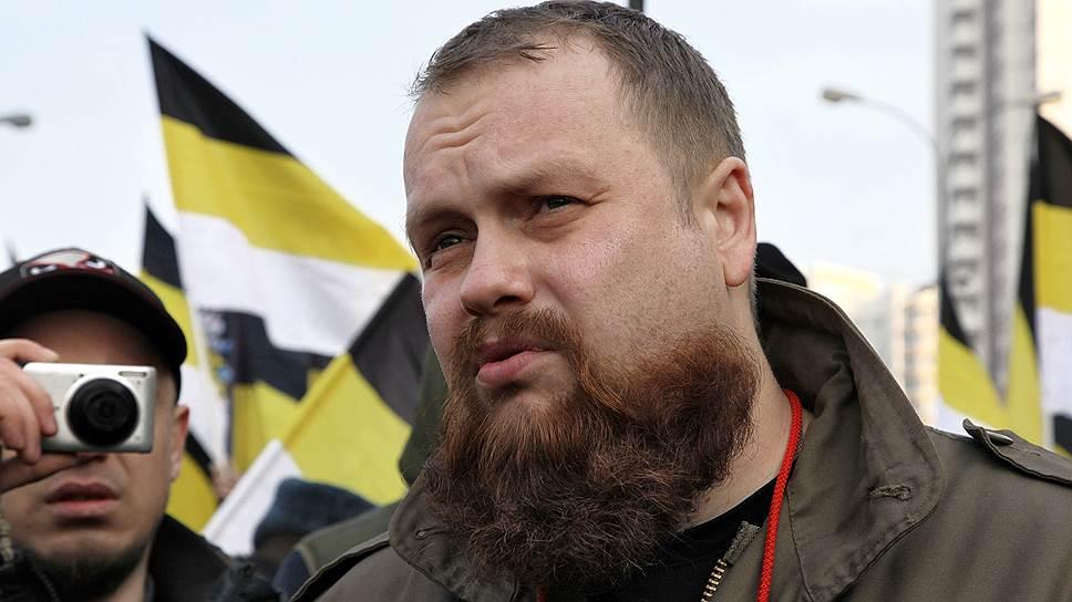 Лидер объединения «Русские» Дмитрий Демушкин