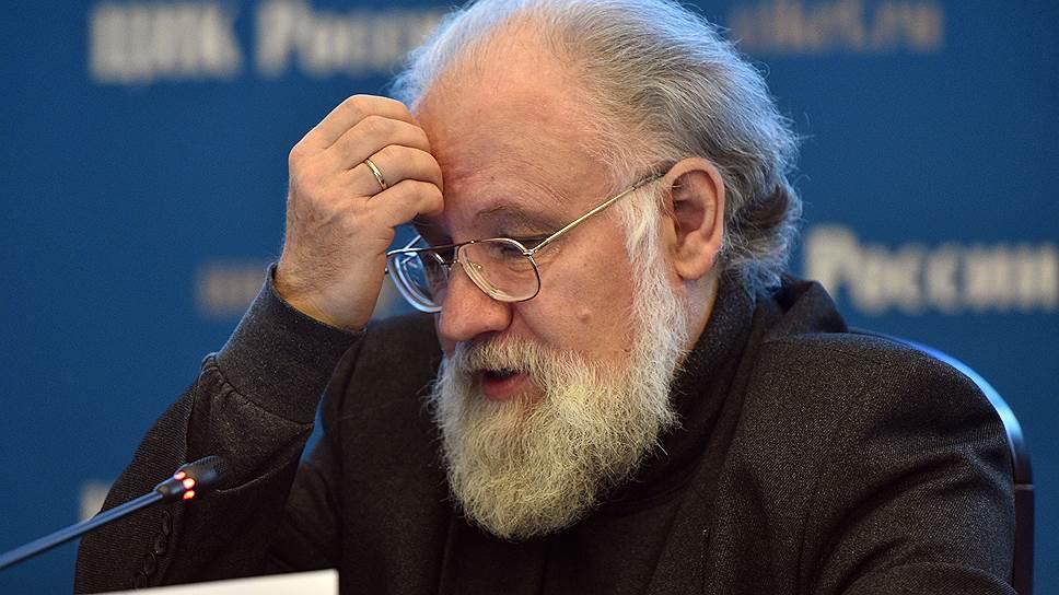 Председатель ЦИК России Владимир Чуров
