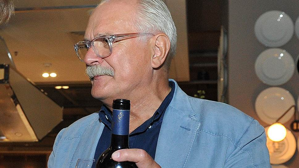 Кинорежиссер, председатель Союза кинематографистов России Никита Михалков