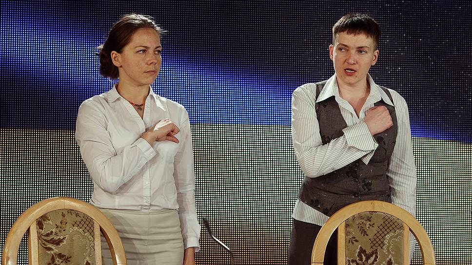 Надежда Савченко готова стать президентом Украины