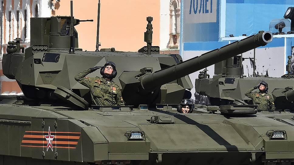 Минобороны и Уралвагонзавод согласовали цену на танк «Армата»