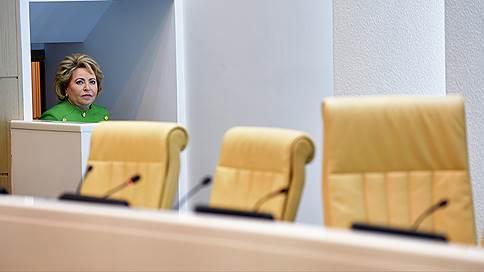 валентина матвиенко прогнозирует отмену антироссийских санкций