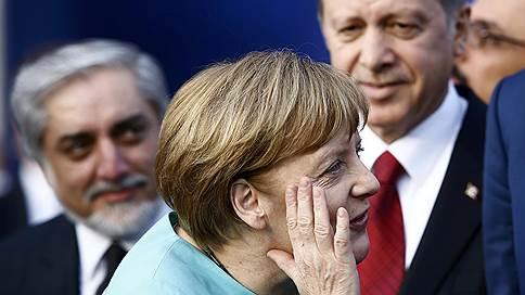 ангела меркель провела переговоры реджепом тайипом эрдоганом