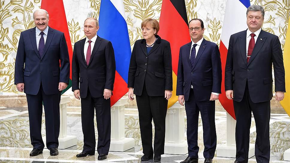 Владимир Путин: из-за Украины встреча в «нормандском формате» сейчас бессмысленна