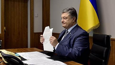 петр порошенко привел боевую готовность войска приграничных крымом