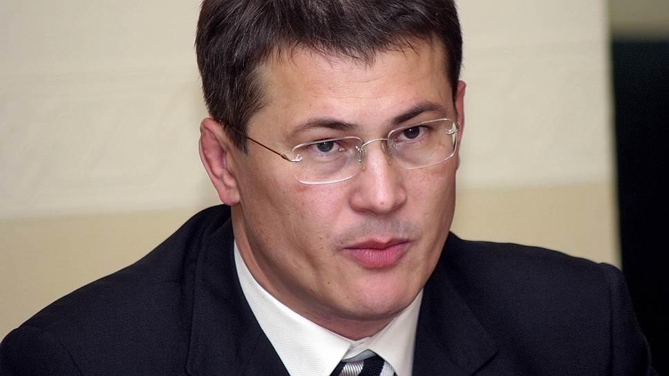 Замглавы управления внутренней политики администрации президента Радий Хабиров