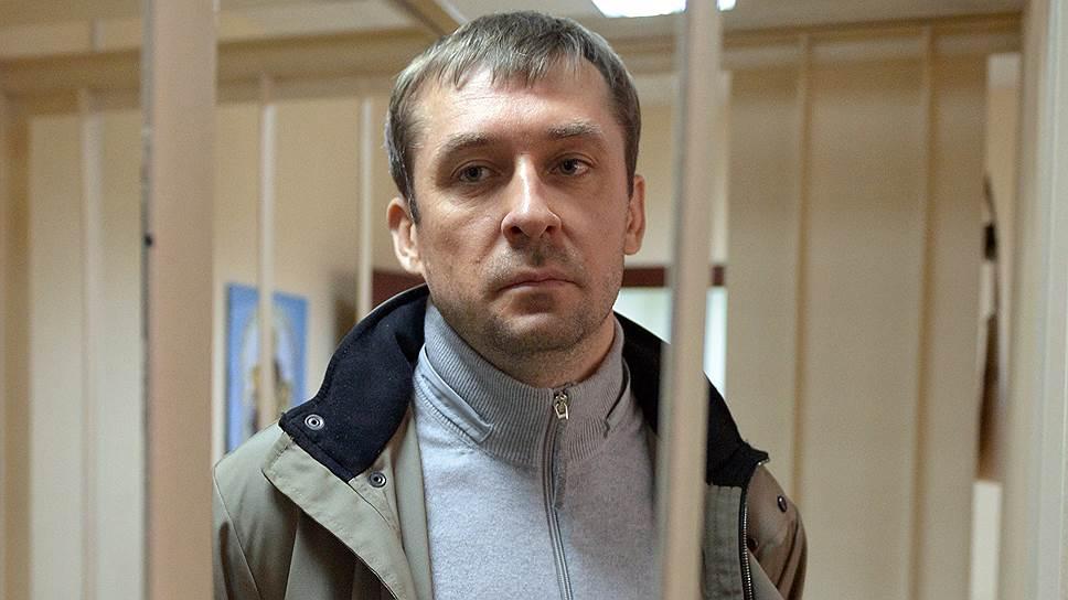 Врио начальника управления «Т» ГУЭБиПК МВД Дмитрий Захарченко