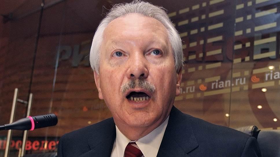 Бывший глава республики Коми Владимир Торлопов