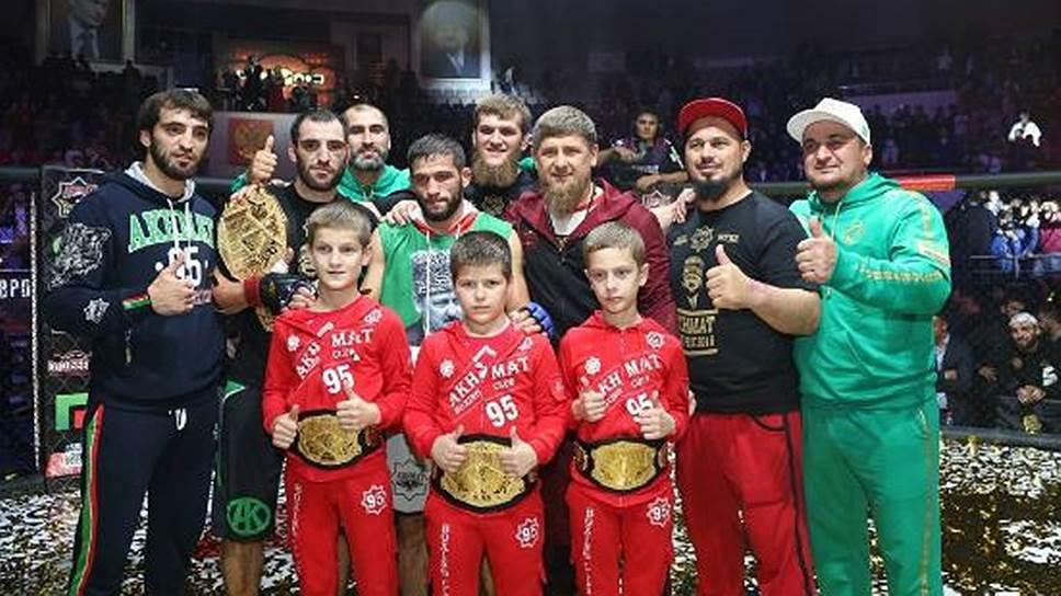 Как президент клуба «Ахмат» ответил на критику детских боев в Грозном