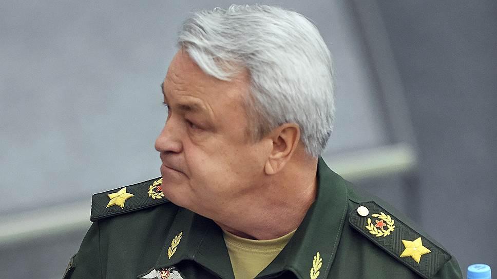 Заместитель министра обороны России Николай Панков