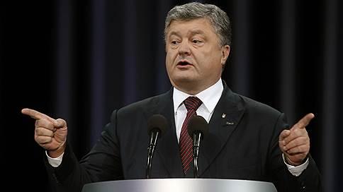 петр порошенко расширил санкции против россии