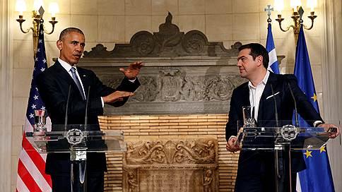 барак обама алексис ципрас обсудили сохранение санкций отношении
