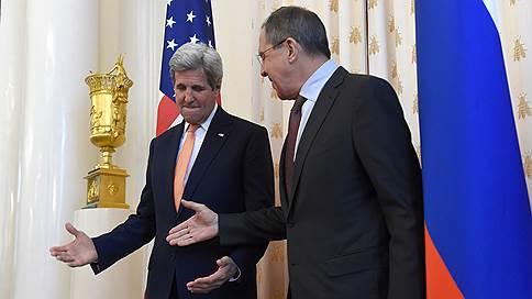 сергей лавров джон керри обсудят перу антироссийские санкции