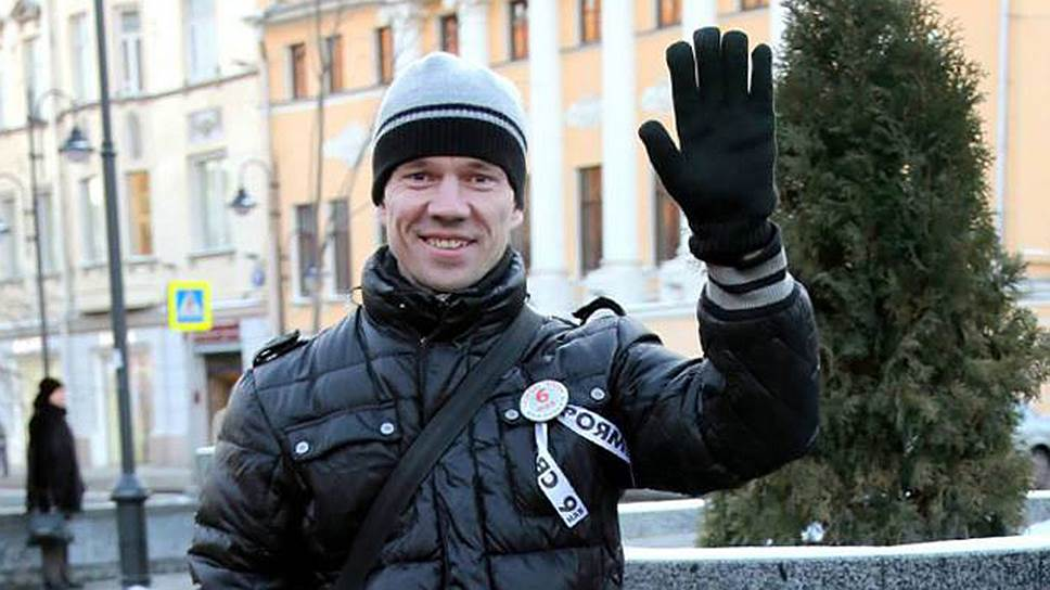 Грнажданский активист Ильдар Дадин