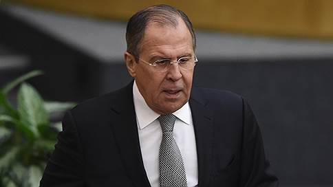 сергей лавров рассказал подготовке мер защиты российских дипломатов