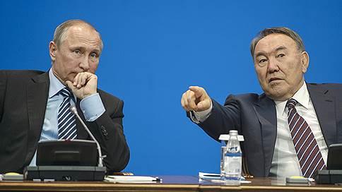 владимир путин нурсултан назарбаев обсудили прошедшие астане переговоры
