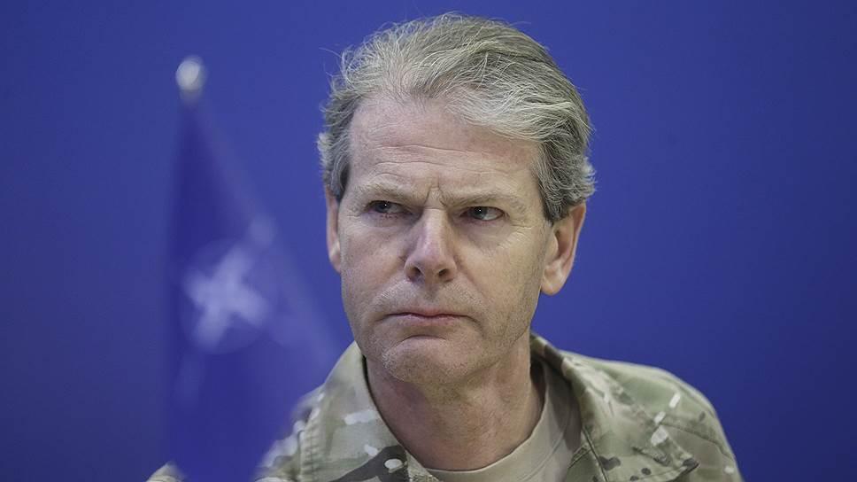 Заместитель командующего объединенными силами НАТО в Европе Адриан Брэдшоу