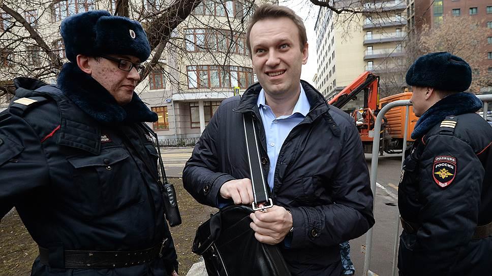Политик Алексей Навальный