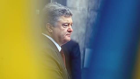 Петр Порошенко заявил о полной потере контроля над Донбассом из-за блокады