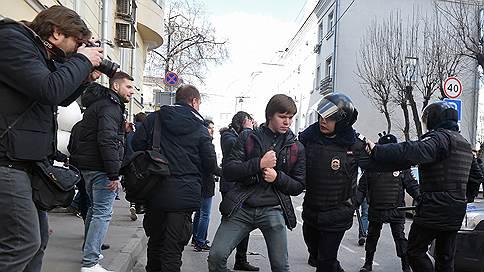 Полиция сообщает о 7-8 тыс. человек на несогласованной акции в центре Москвы