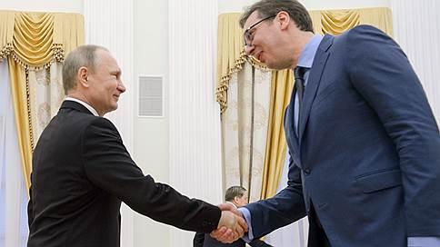 владимир путин уверен позитивном развитии отношений сербией