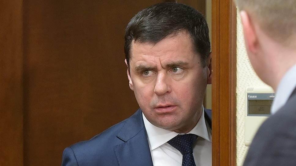 Врио губернатора Ярославской области Дмитрий Миронов