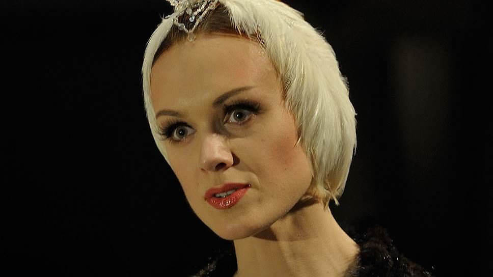 Прима-балерина Ульяна Лопаткина на сцене Мариинского театра