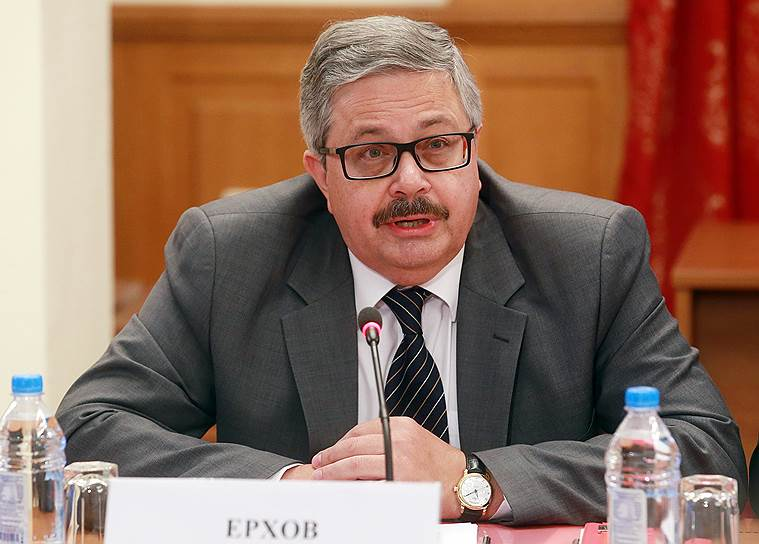 Посол России в Турции Алексей Ерхов