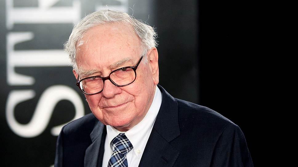 Американский миллиардер Уоррен Баффет