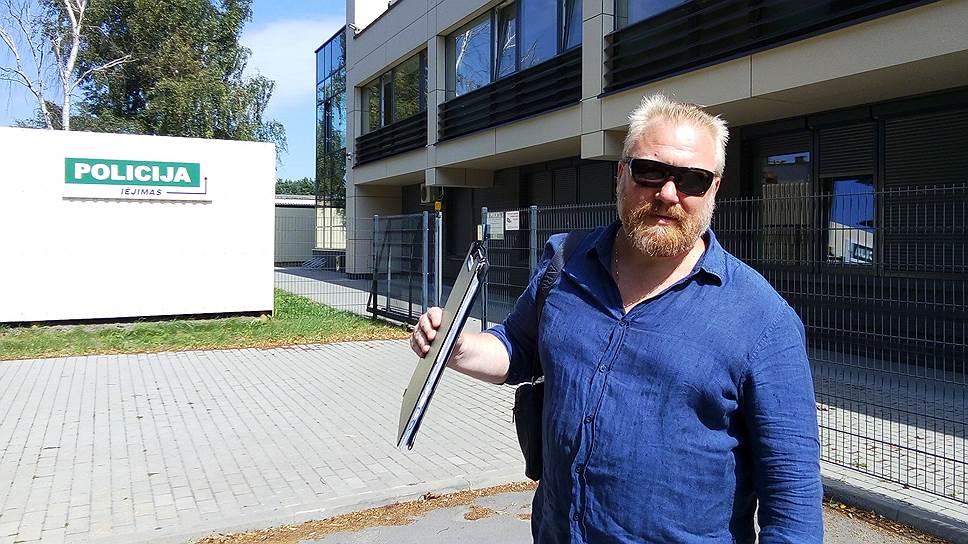 Организатор «Русского марша» Юрий Горский