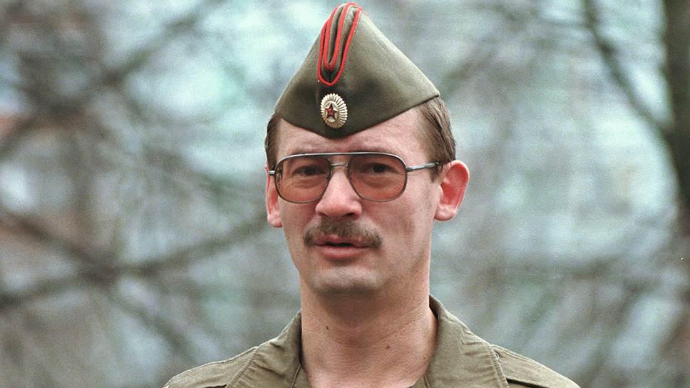 Бывший председатель «Союза офицеров» Станислав Терехов