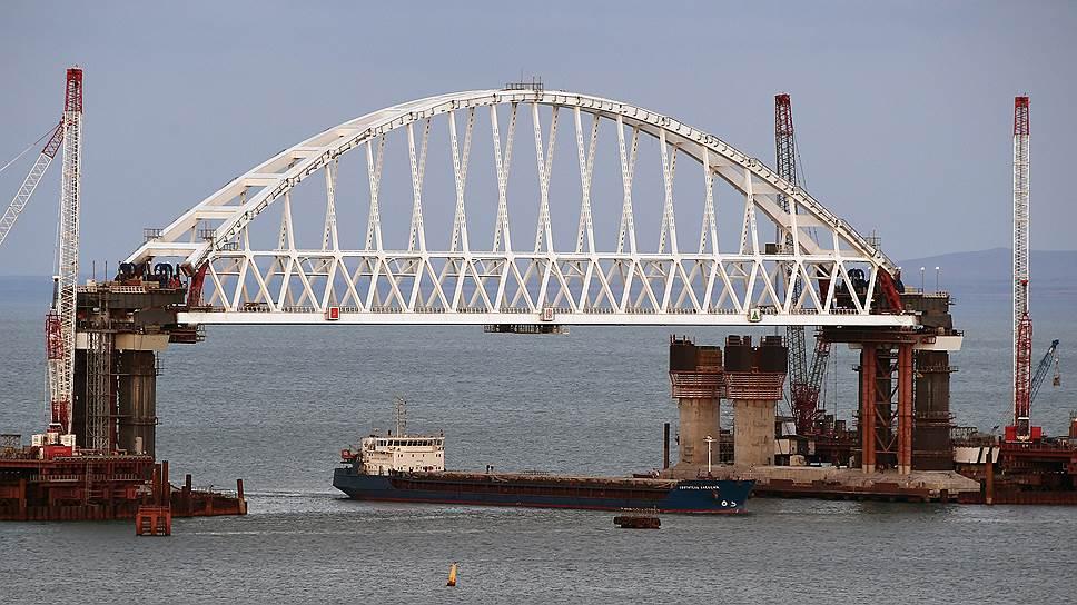 Как строят Крымский мост