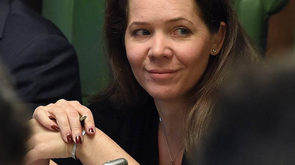 Вице-мэр Москвы Анастасия Ракова