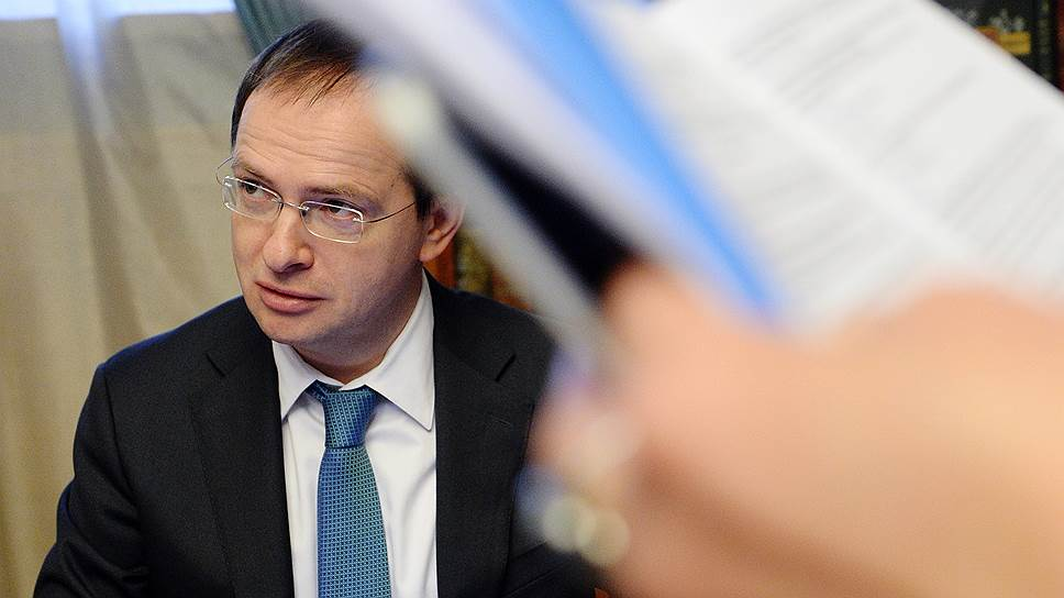 Министр культуры Владимир Мединский