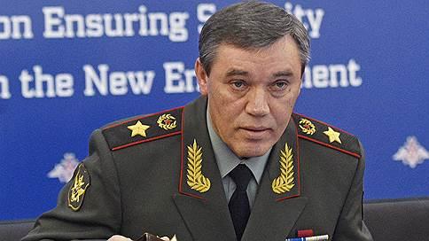 Начальники генштабов России и США обсудили удар по сирийской оппозиции