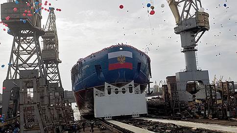 Атомный ледокол «Сибирь» спущен на воду в Санкт-Петербурге
