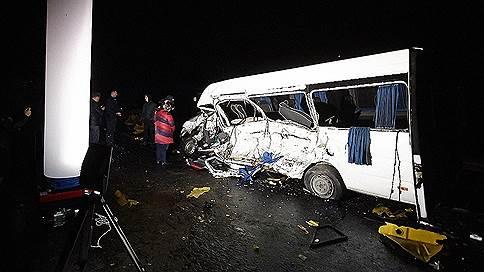 Под Калининградом восемь человек погибли в ДТП с участием маршрутки