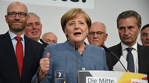 Экзит-полы: в парламент Германии проходят шесть партий
