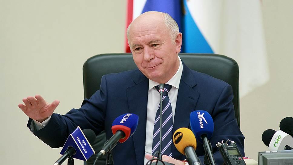 Бывший губернатор Самарской области Николай Меркушкин